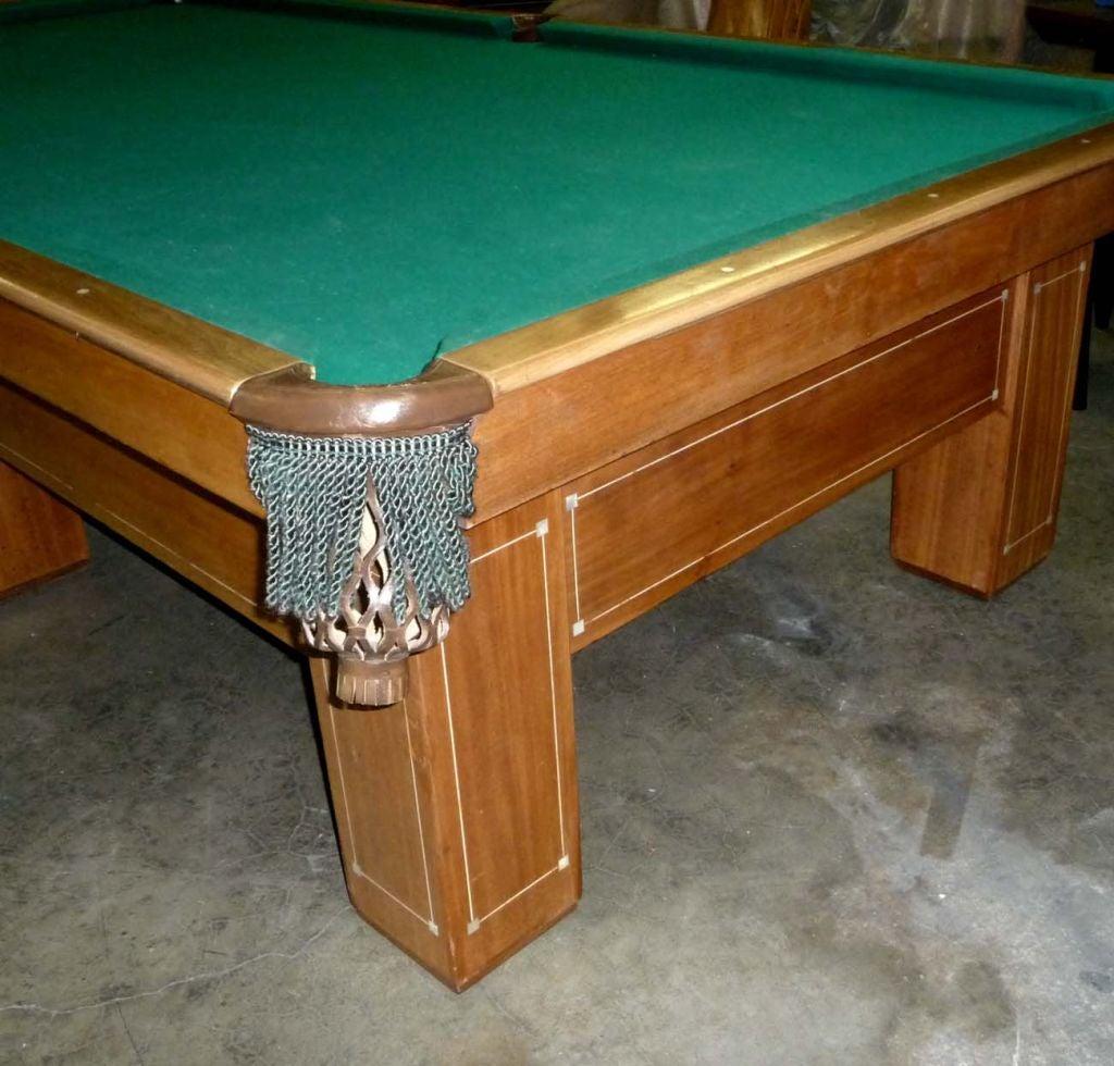 Brunswick Madison Six Legged Pool Table At Stdibs - Brunswick madison pool table