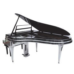 The Ultimate Rippen Piano in Polished Aluminum