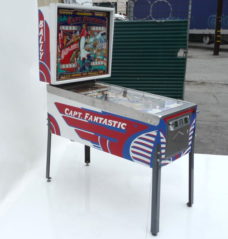 Bally Quot Captain Fantastic Quot Elton John Pinball Machine At