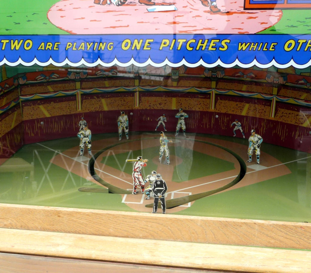 "Williams ""Official Baseball"" Pitch and Hit Arcade Game image 4"