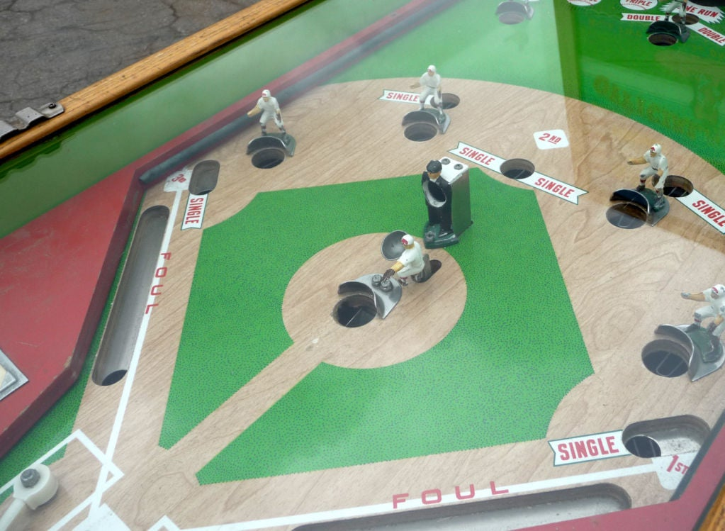 "Williams ""Official Baseball"" Pitch and Hit Arcade Game image 6"