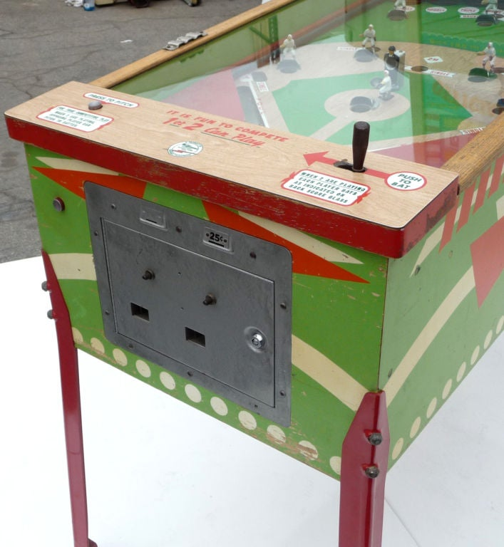 "Williams ""Official Baseball"" Pitch and Hit Arcade Game image 7"