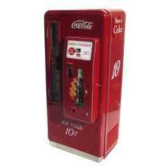 "Coca Cola ""Cavalier"" Restored Vending Machine"
