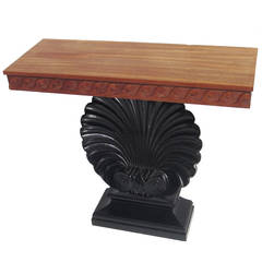 "Edward Wormley ""Shell"" Console Table for Dunbar"