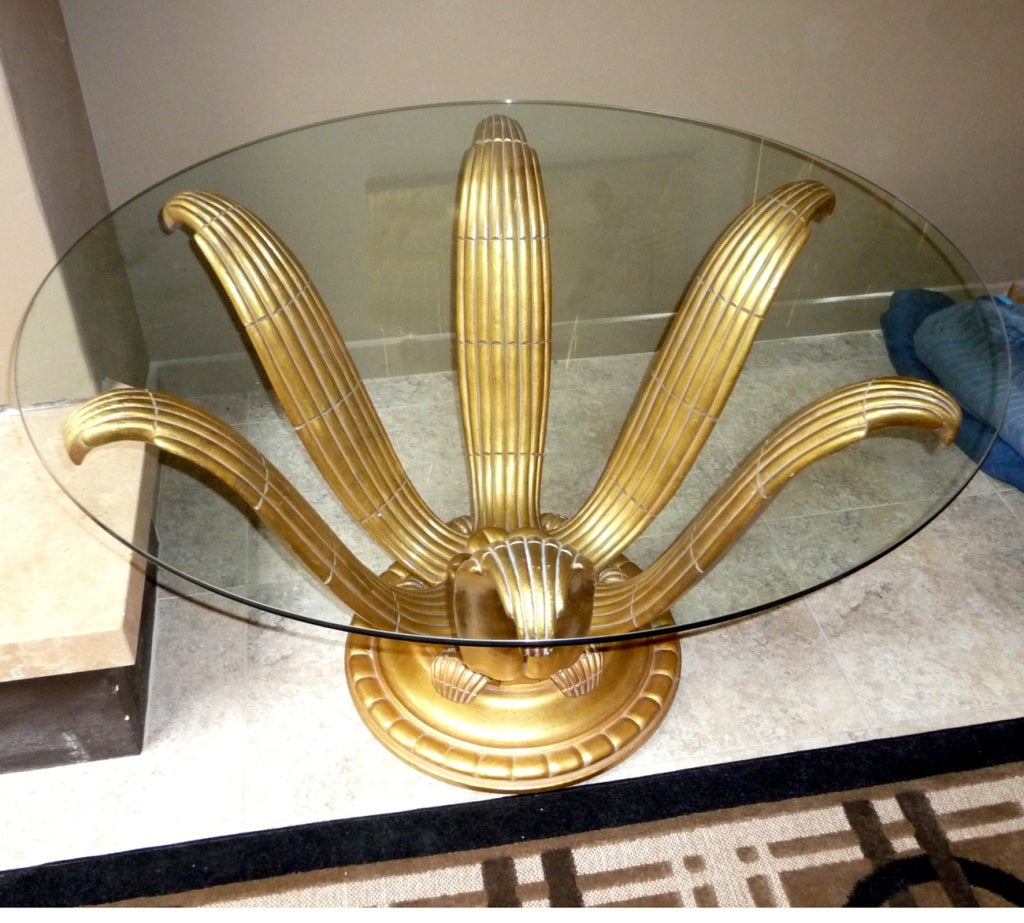 Art Deco Foyer Furniture : Art deco entry table in the manner of sue et mare at stdibs
