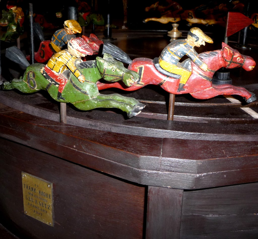 Casino horse racing game