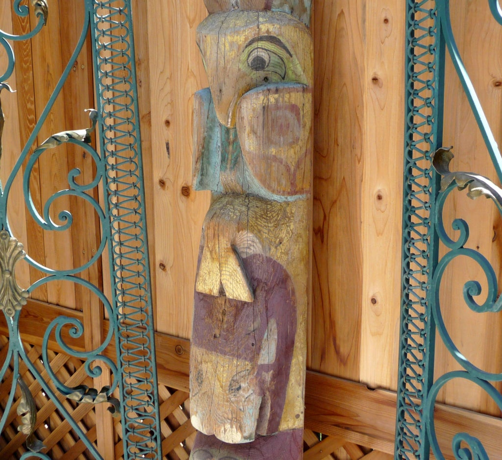 Pacific Northwest Carved Totem Pole image 8