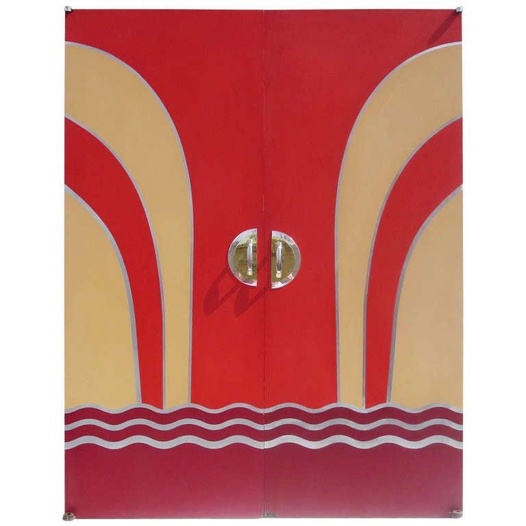 Art Deco Movie Theater Doors For Sale  sc 1 st  1stDibs & Art Deco Movie Theater Doors at 1stdibs