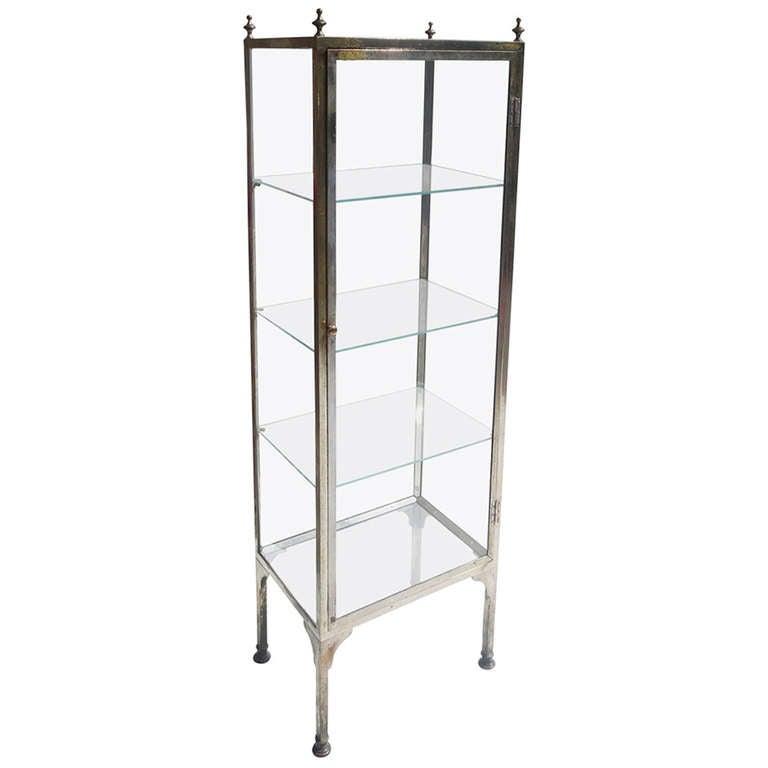 Vitrine Metall Glas : french metal and glass vitrine at 1stdibs ~ Whattoseeinmadrid.com Haus und Dekorationen