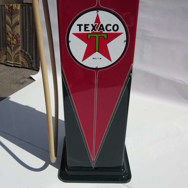 1932 Fully Restored Lighted Texaco Gas Pump image 4