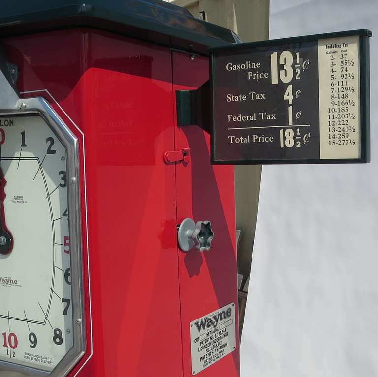 1932 Fully Restored Lighted Texaco Gas Pump image 8