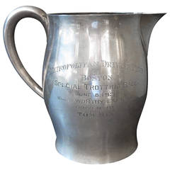 Tom Mix Sterling Pitcher from Metropolitan Driving Club, Boston 1928