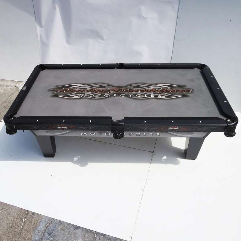 Harley Davidson Custom Pool Table At 1stdibs Rh Com Accessories