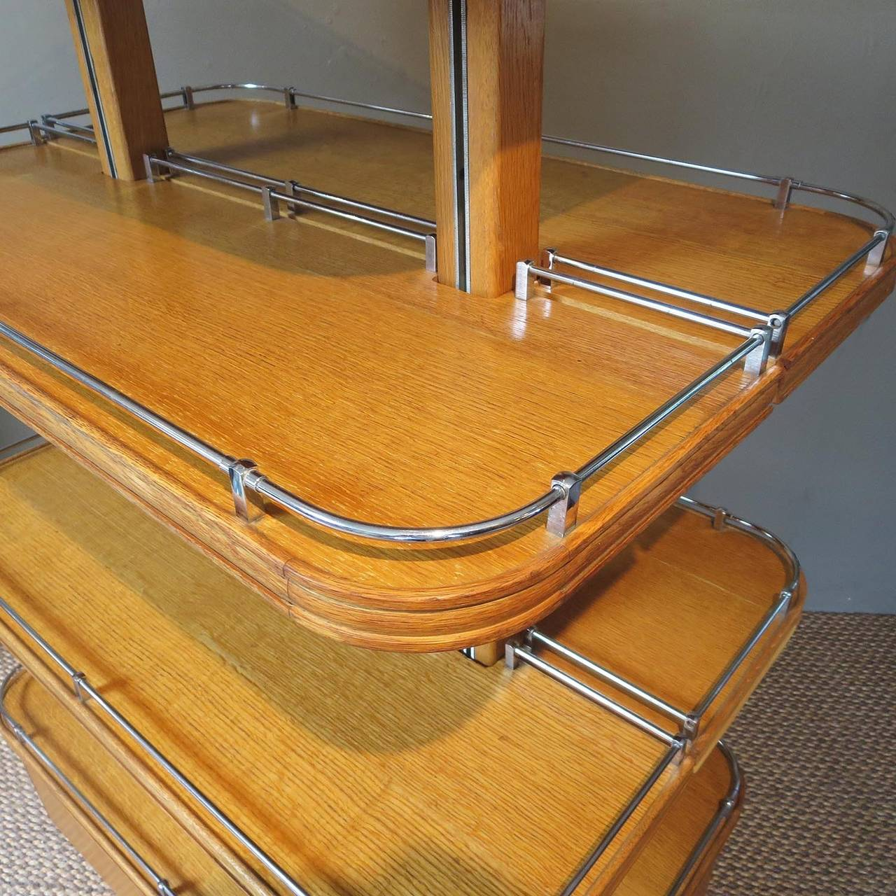 Lacquered Ultimate Art Deco Store Shoe Display For Sale