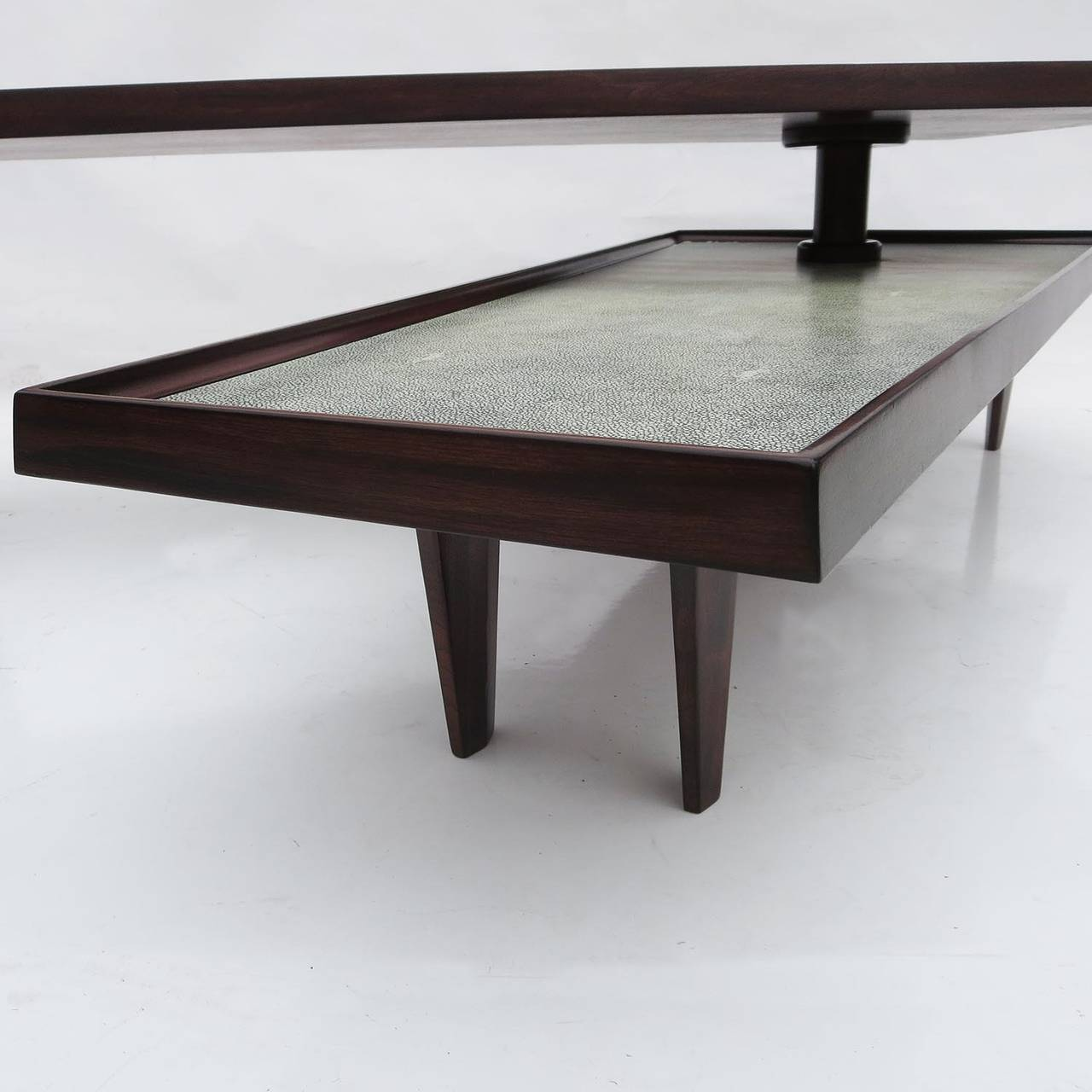 Modern coffee table with swing out level for sale at 1stdibs for Modern coffee table for sale