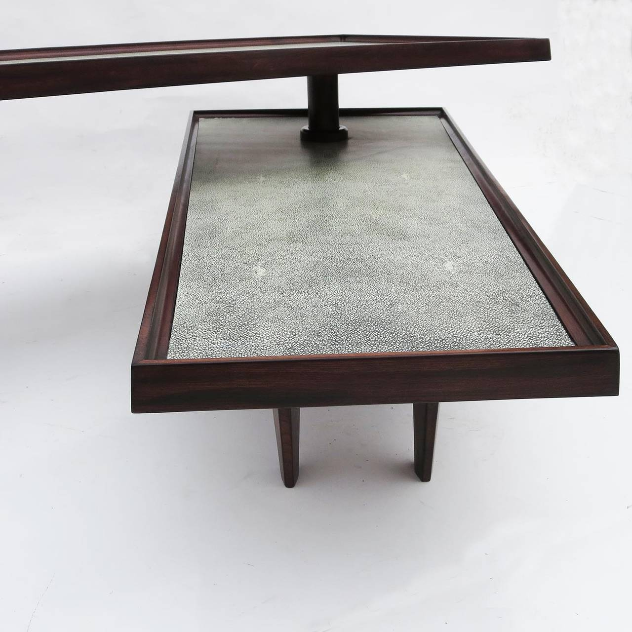 Modern coffee table with swing out level for sale at 1stdibs for Modern coffee table sale