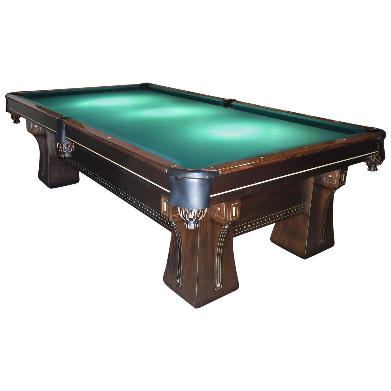 Brunswick arcade pool table at 1stdibs for Brunswick pool tables