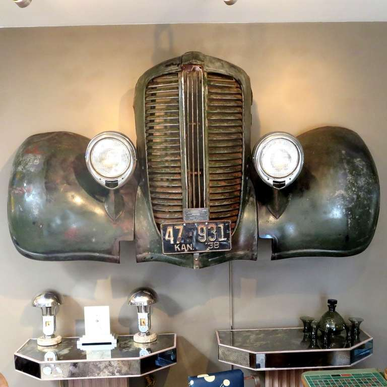 1938 Dodge Truck Front End Wall Mount At 1stdibs