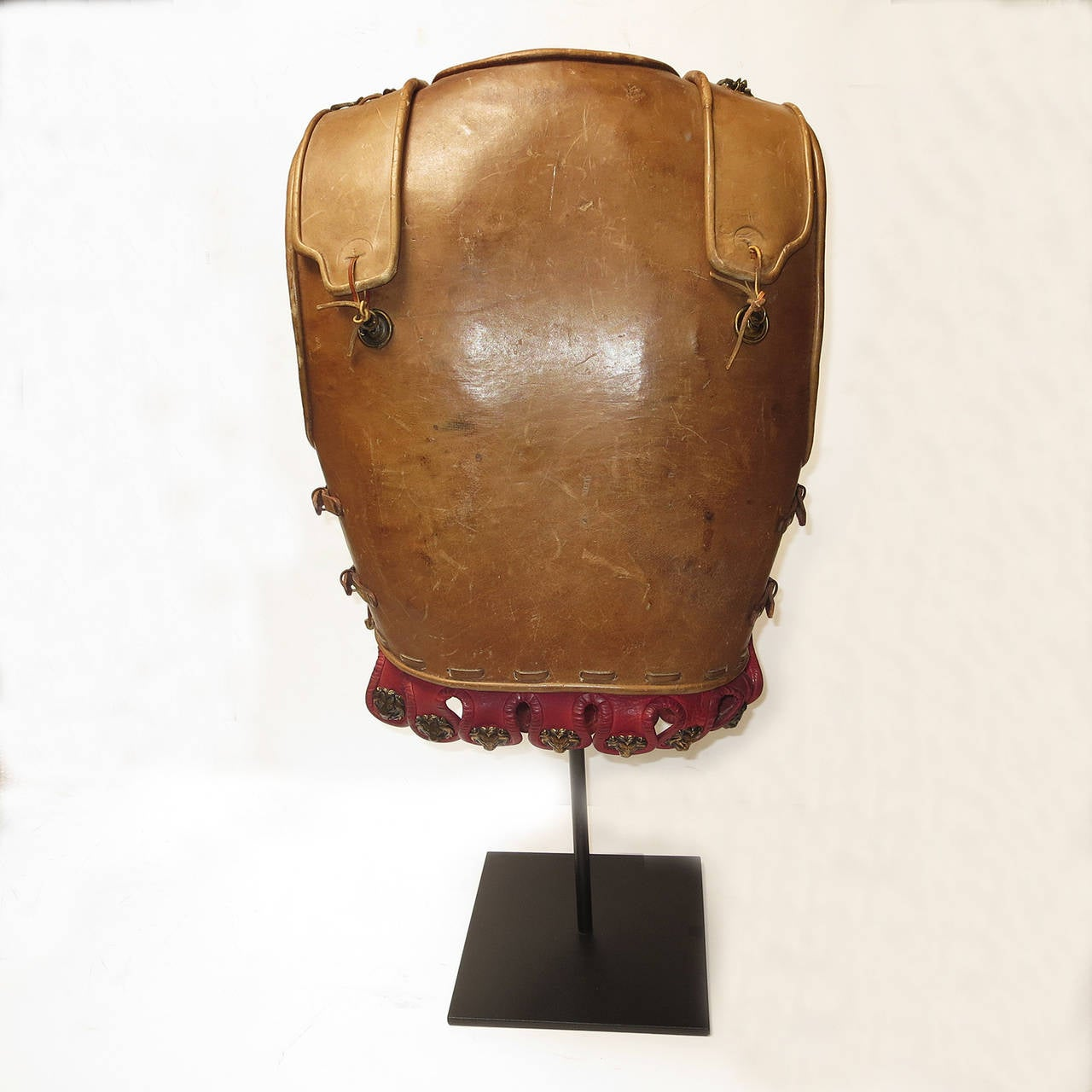 "Telly Savalas Leather Chest Plate Prop from ""The Greatest Story Ever Told"", 1965 3"