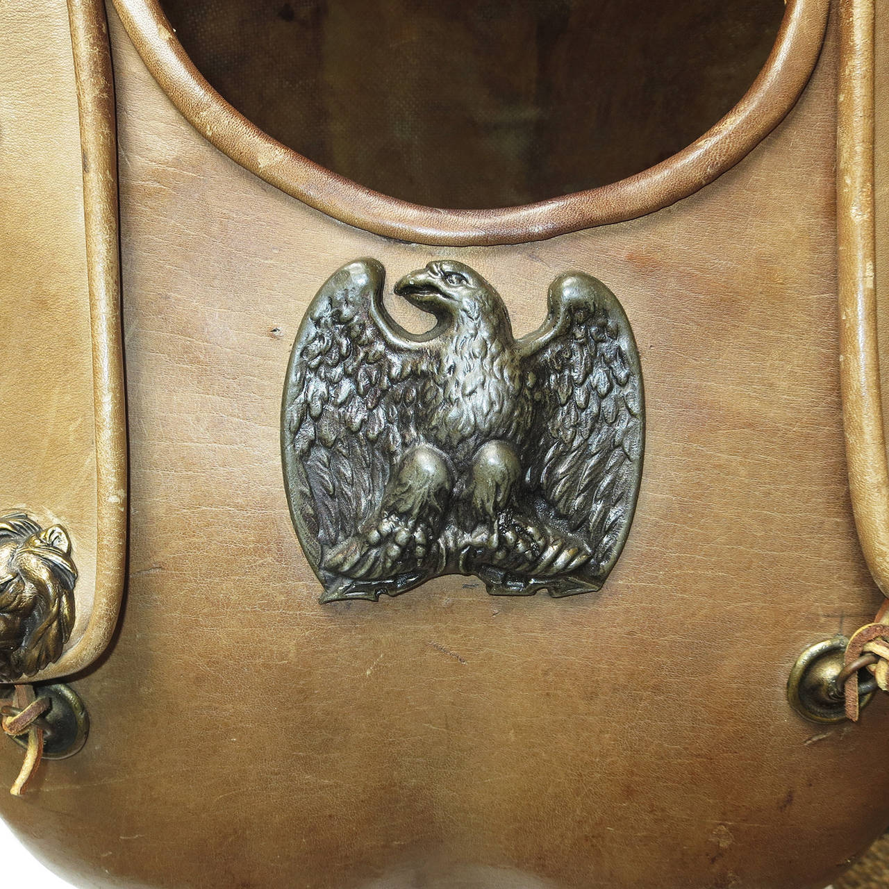 Telly Savalas Leather Chest Plate Prop from