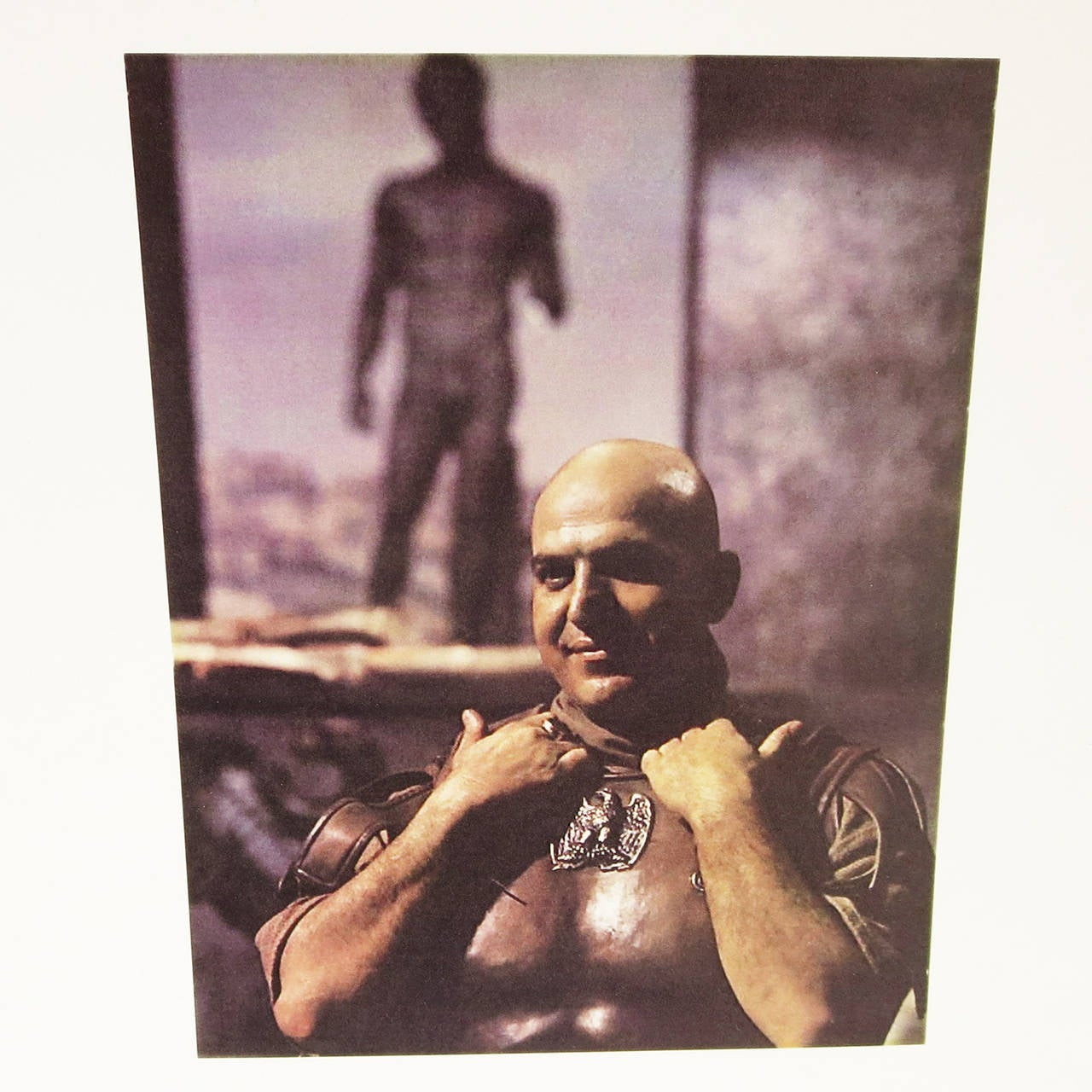 "Telly Savalas Leather Chest Plate Prop from ""The Greatest Story Ever Told"", 1965 9"