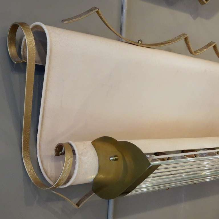 French Art Deco Theater Sconces at 1stdibs