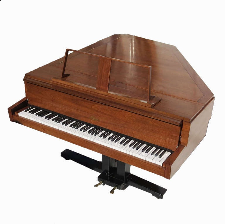Mid Century Quot Tilting Wing Quot Piano By Nico Rippen For Lindner At 1stdibs