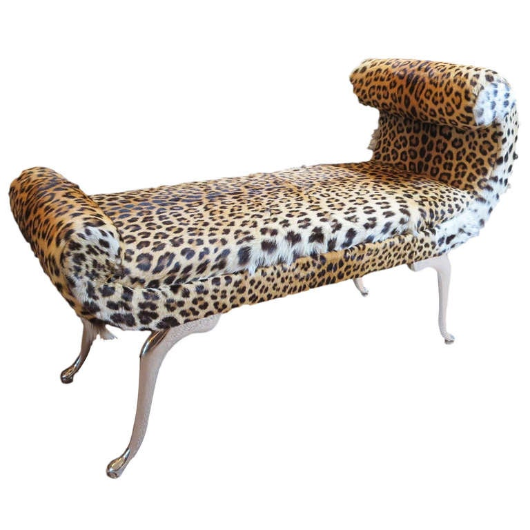 Leopard bench 28 images john richard collection attina Leopard print bench