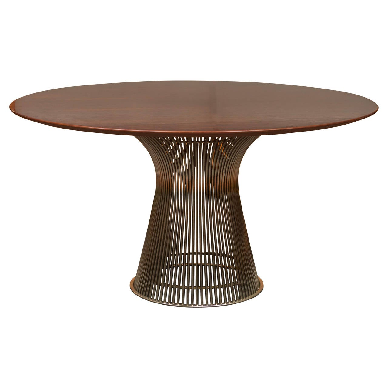 Warren platner for knoll rosewood table at 1stdibs for Table warren platner