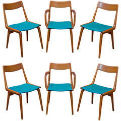 Erik Christensen Teak Dining Chairs