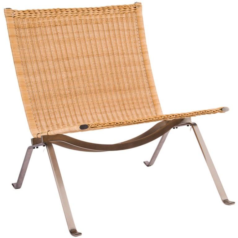 Pk22 Chair By Poul Kj Rholm At 1stdibs