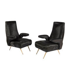 Pair of Mensola Armchairs