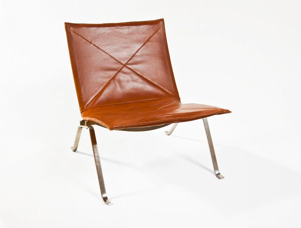 Pair Of PK22 39 Easy Chair 39 By Poul Kj Rholm At 1stdibs
