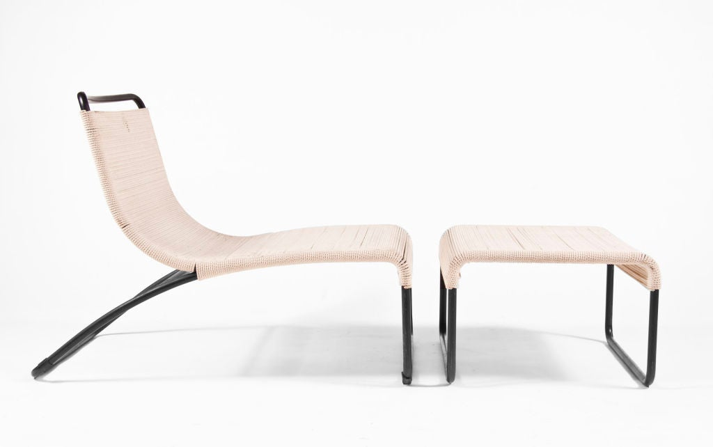 Van Keppel And Green Lounge Chair And Ottoman At 1stdibs