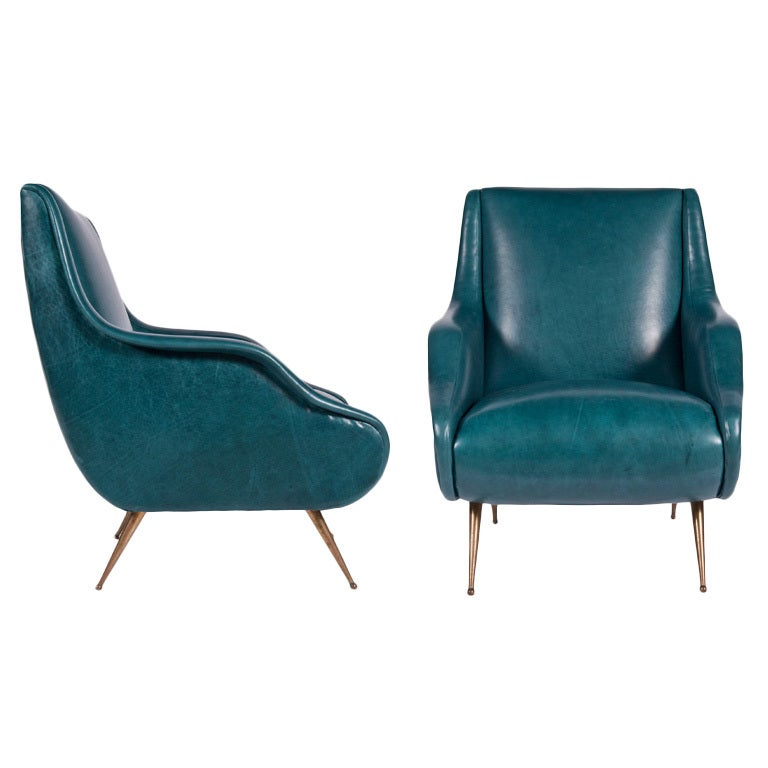 Pair of Maiden Arm Chairs