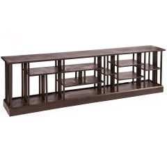 Industrial Low Shelving Unit