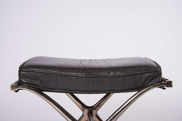 Shelby Campaign Stools At 1stdibs