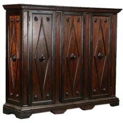Turn of 19th Century Northern Italian Pine Cabinet