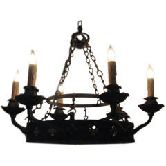 ON SALE  Chandelier Late 19th Century Rewired