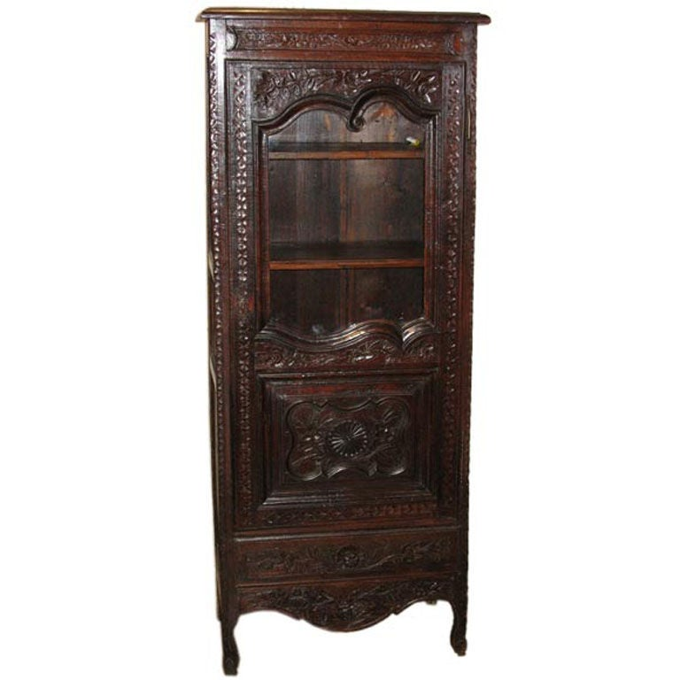 19th century french normandy oak cabinet at 1stdibs for 19th century kitchen cabinets