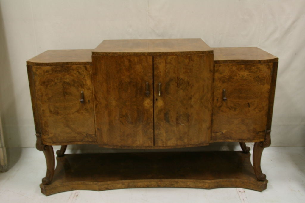 English Art Deco Cabinet By Harry And Lou Epstein Of London At 1stdibs