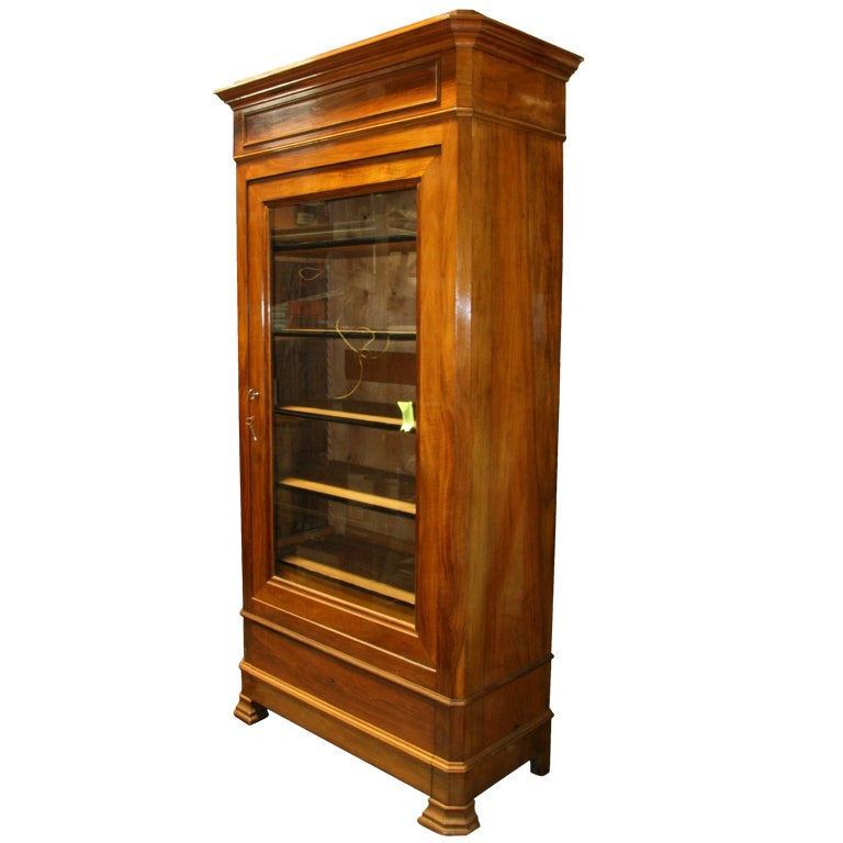 19th century louis philippe armoire. Black Bedroom Furniture Sets. Home Design Ideas