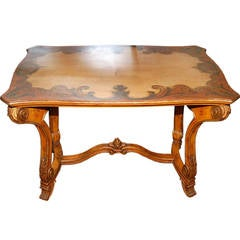 Table Late 19th Century Painted Italian