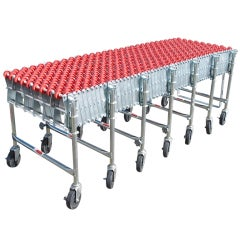 Industrial Conveyor Belt Dining or Console table