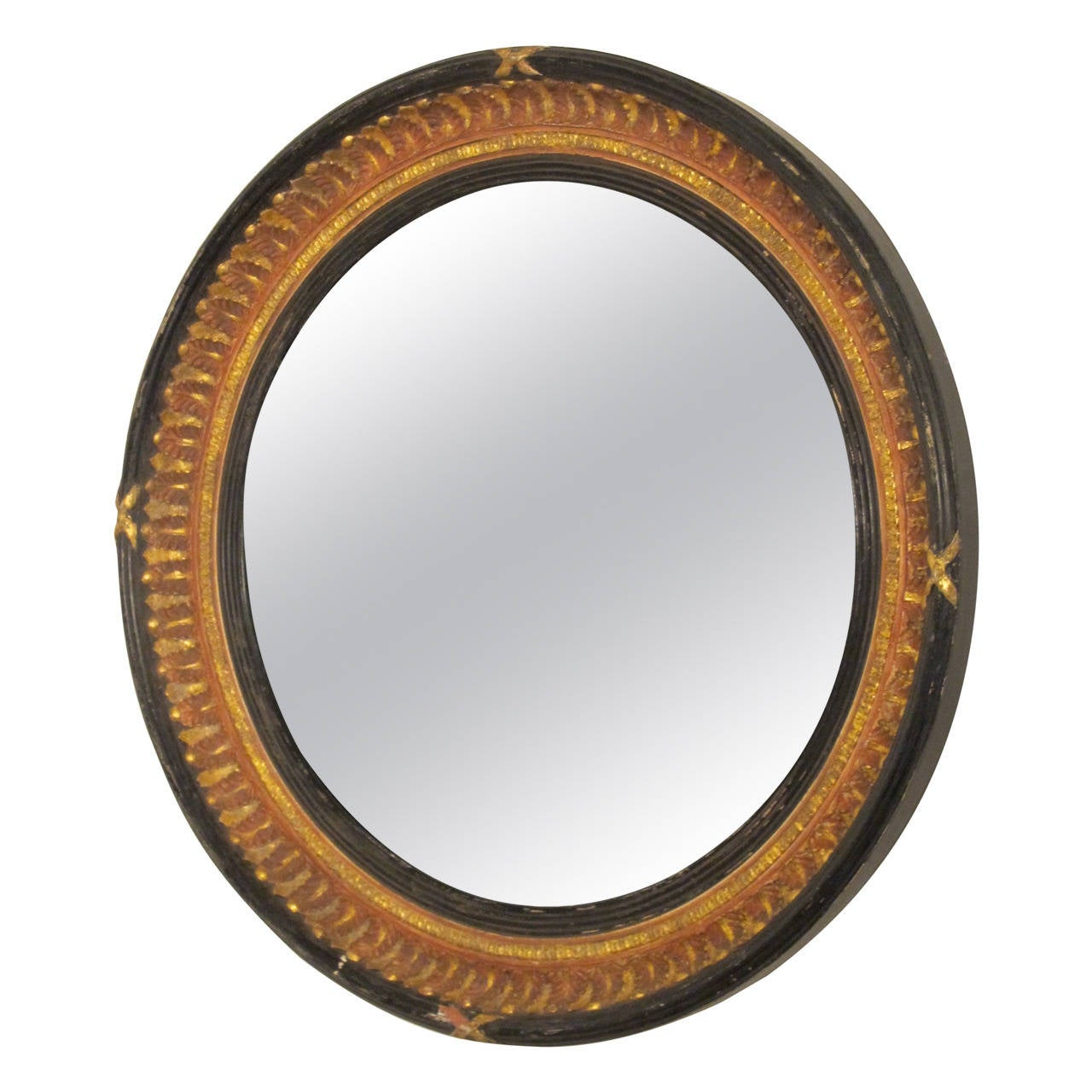 Unusual english convex mirror for sale at 1stdibs for Convex mirror for home