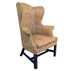 18th Century English Wing Chair