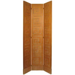 Double Sided Hollywood Regency Room Divider - Screen