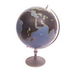Vintage Aviation Military Globe