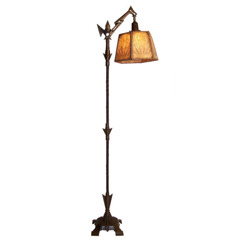 this art deco floor lamp is no longer available. Black Bedroom Furniture Sets. Home Design Ideas