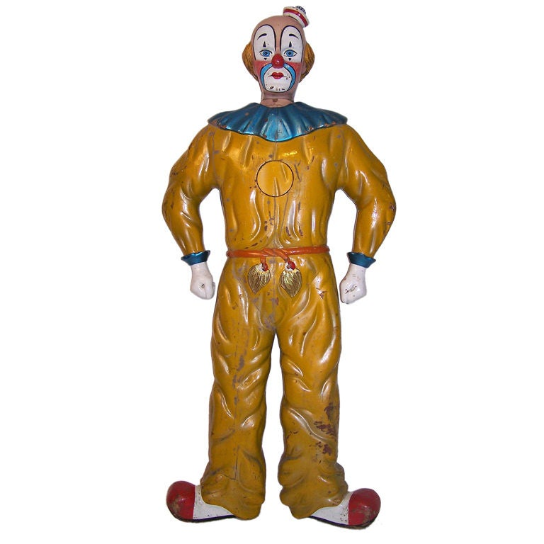 Lifesize Circus Clown